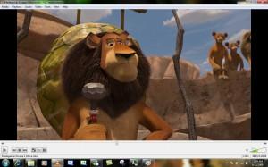 Interfaccia del programma VLC Media Player