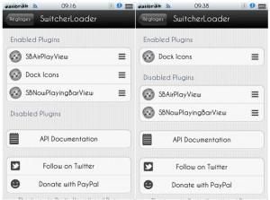 Immagine dell'applicazione Switcher Loader per Cydia