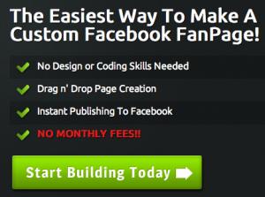 Immagine dell'applicazione Fan Page Engine per personalizzare Facebook