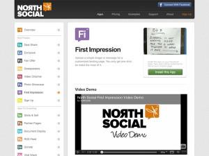 Immagine dell'applicazione First Impression per personalizzare Facebook