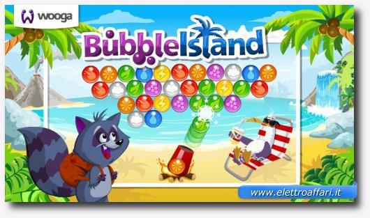 Immagine del gioco Bubble Island per Google+