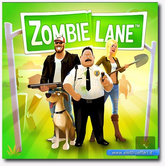 Immagine del gioco Zombie Lane per Google+