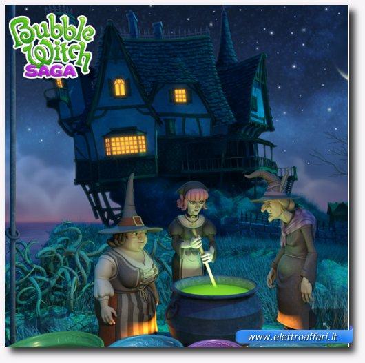Immagine del gioco Bubble Witch Saga per Google+
