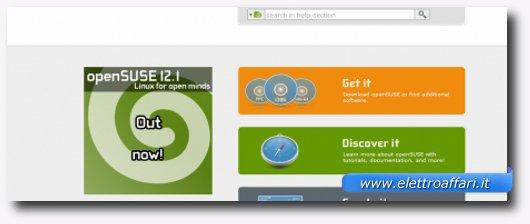 Immagine di openSUSE