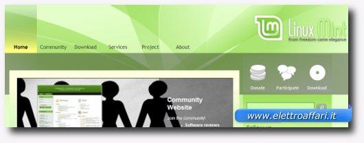 Immagine di Linux Mint
