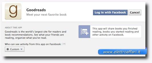 Controllare le impostazioni delle applicazioni di Facebook