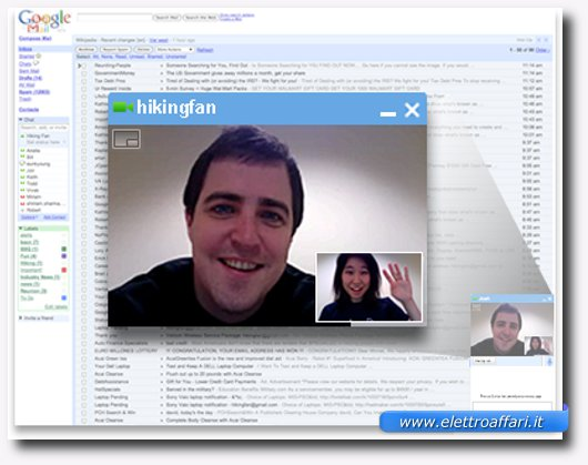 Immagine di Google Video Chat per videochiamate gratis