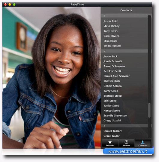 Immagine di Facetime per videochimate gratis