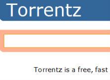 Immagine del sito Torrentz per scaricare torrent italiani