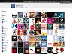Immagine dell'applicazione YouTube Tab per personalizzare Facebook