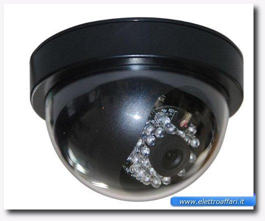 Immagine di una videocamera di videosorveglianza