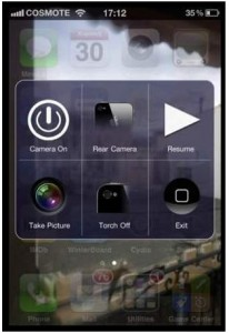 Immagine dell'app Camera Wallpaper di Cydia