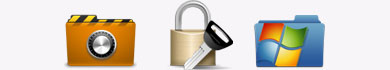Proteggere le cartelle con password