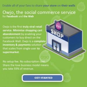 Immagine dell'applicazione Owjo per personalizzare Facebook