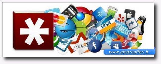 Salvare le password del browser