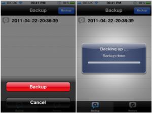 Immagine dell'app XBackup di Cydia