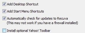 Disattivare l'installazione della toolbar di Yahoo