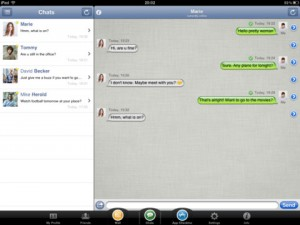 Immagine dell'app AppMe Chat Messenger per iPad 3