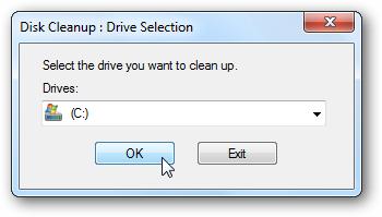 Finestra di Windows che ci ricorda di fare una pulizia del PC