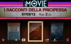 Immagine dell'app iMovie per iPad 3