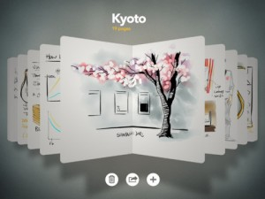 Immagine dell'app Paper by FiftyThree per iPad 3