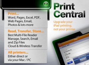 Immagine dell'app PrintCentral for iPad 3