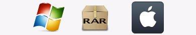Come estrarre file RAR su Windows e Mac Os X