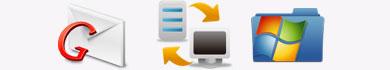Salvare messaggi e allegati di Gmail su Windows 7
