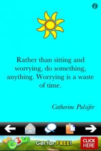Immagine dell'app Antri-Stress Quotes per iPhone