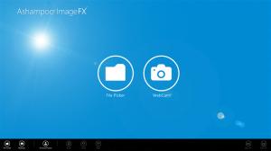 Immagine dell'applicazione Ashampoo Image FX per Windows 8