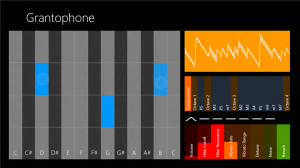 Immagine dell'applicazione Grantophone per Windows 8