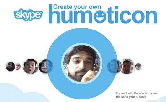 Le Humoticon di Skype