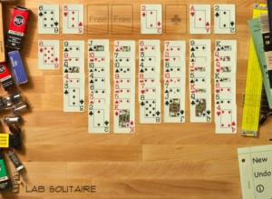Immagine del gioco Lab Solitaire per iPad
