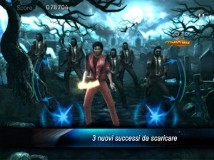 Immagine del gioco Michael Jackson The Experience per iPad