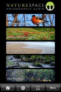 Immagine dell'app Naturespace per iPhone