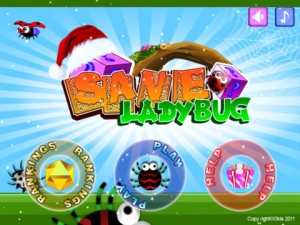Immagine del gioco Save LadyBug HD per iPad