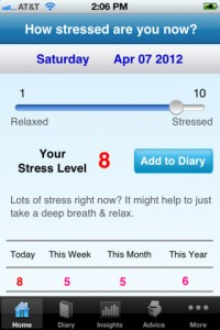 Immagine dell'app Stress Tracker per iPhone