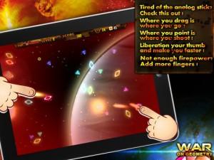 Immagine del gioco War on Geometry HD per iPad