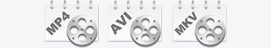 Convertire video in AVI, MP4 e MKV