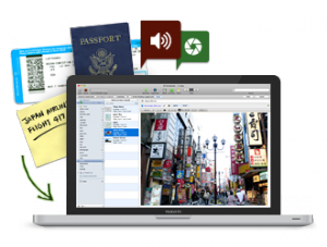 Immagine del software Evernote per prendere note