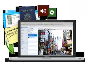Immagine del software Evernote per prendere note