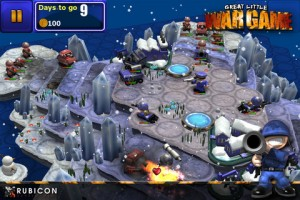 Immagine del gioco Great Little War Game HD per iPad 3