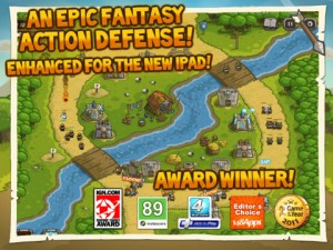 Immagine del gioco Kingdom Rush HD per iPad 3