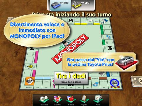 Immagine del gioco Monopoly for iPad