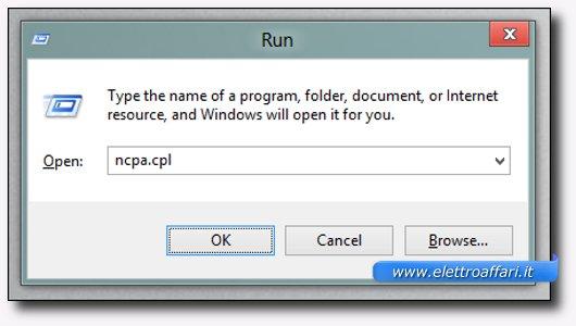 Comando per accedere velocemente alle reti wireless di Windows