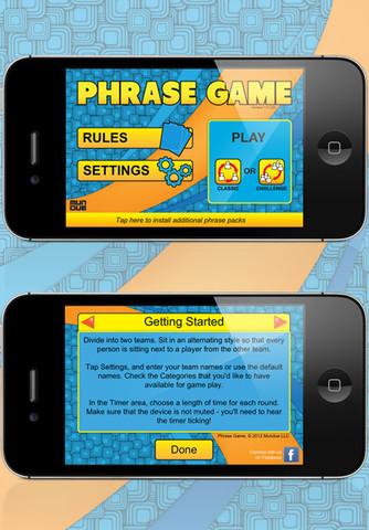Immagine del gioco Phrase Game per iPad