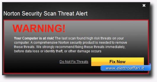 Immagine dell'antivirus online Norton Security Scan