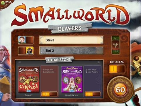 Immagine del gioco Small World per iPad