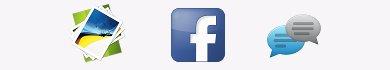 Come usare immagini nella chat di Facebook