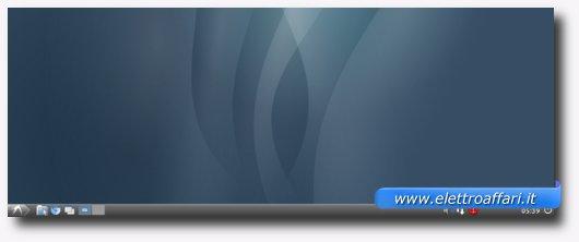 Immagine di un desktop Ubuntu